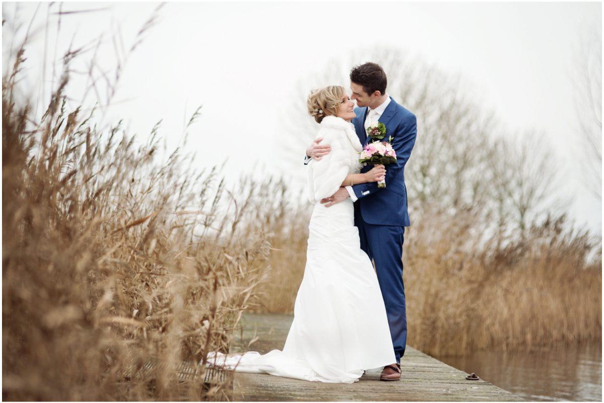 Trouwen in Friesland - Bruidsfotograaf Súdwest-Fryslân