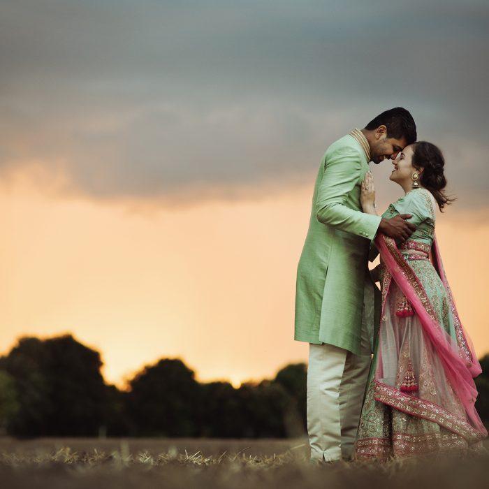 Bruidsfotograaf Limburg - De Indiase verloving van Jessika en Sanal