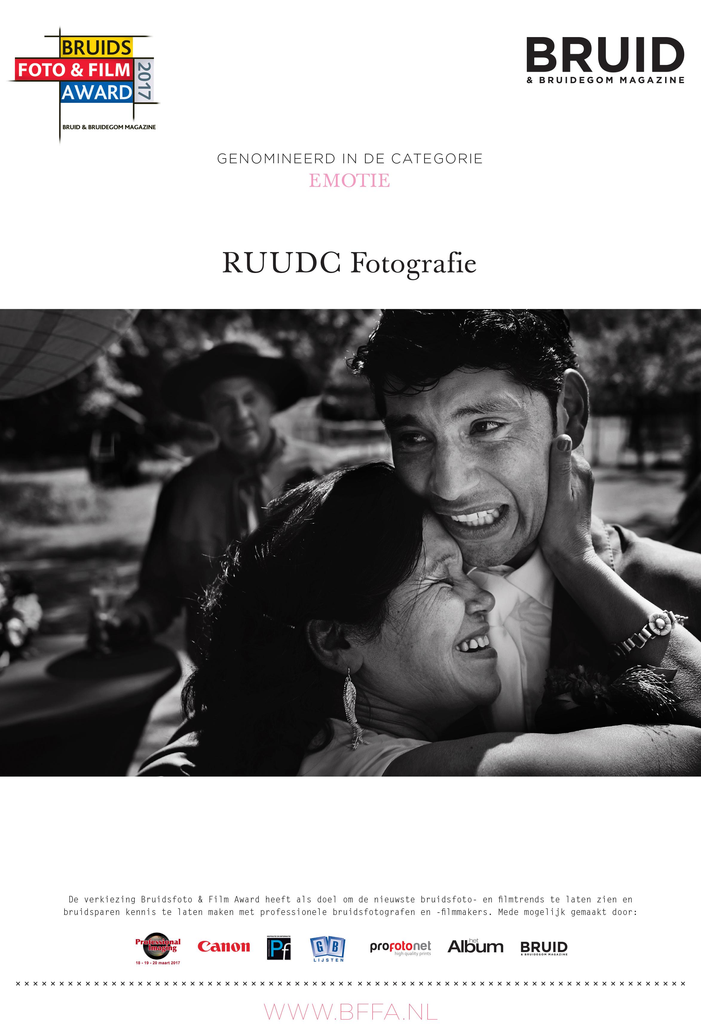 RUUDC Fotografie, RUUDC, BFFA oorkonde 2017 Emotie__RUUDC bruidsfoto award, bruidsfotografie award, bffa, bfa, ruudc, fearless award, masters, masters of dutch wedding photography, trouwfotografie prijs, bruidsfotograaf, bruidsfotografie, roermond, limburg, nederland, hip, trendy, romantiek, romantisch, journalistiek, documentair, bohemian, tarieven, trouwfotograaf, trouwfotografie, bruidsreportage, bruidsreportages, fotograaf bruiloft, fotograaf bruiloften, bruidsfotograaf, bruidsfotografie, hip, trendy, romantiek, journalistiek, bohemian, tarieven, kosten, prijs, prijslijst, destination weddings, trouwen in het buitenland, buitenland, wat kost een bruidsfotograaf, trouwfotograaf, trouwfotografie, fotograaf bruiloft, prijzen, destination weddings, destination wedding fotograaf, fotograaf buitenland, trouwen in het buitenland