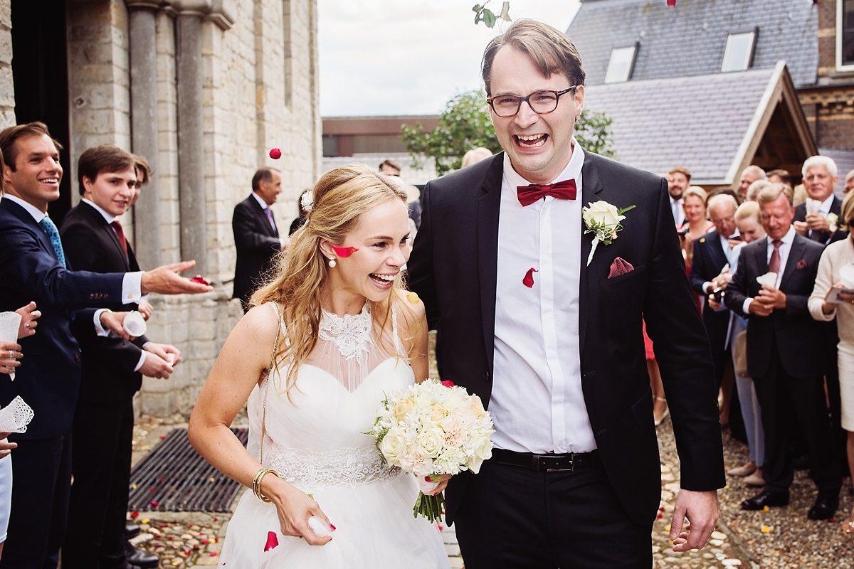 Bruidsreportage Limburg - Kasteeltje Hattem - Christiane & Philip