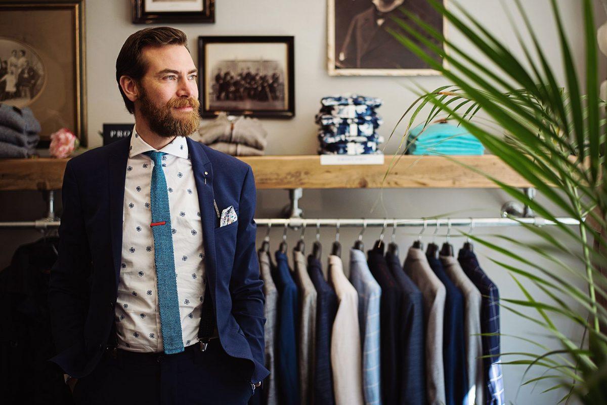 Bedrijfsreportage en zakelijke portretten - Michel's Mens Wear