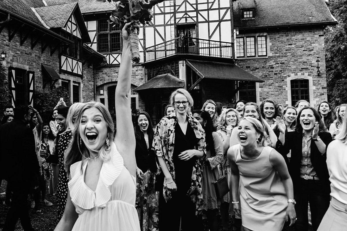 Trouwen op Château Presseux - De bruiloft in België van Romy en Thijmen