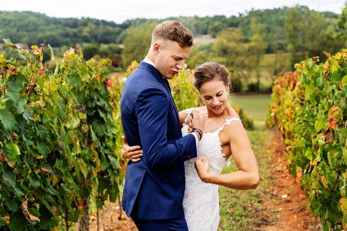 Trouwen in Frankrijk - De bruiloft op Château Camp Del Saltre van Lilou en Matthijs