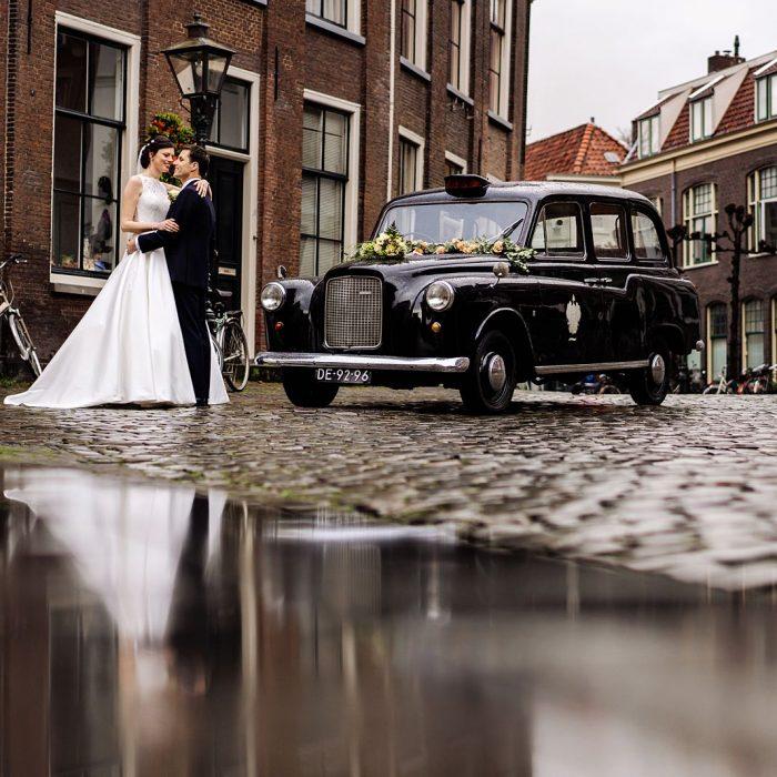 Trouwen in Leiden - De bruiloft in Leiden van Mirjam & Bas - preview