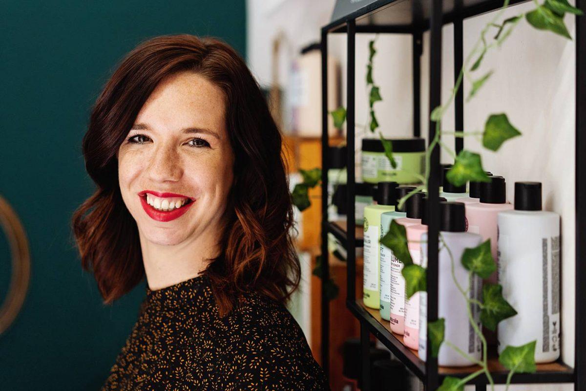 Bedrijfsshoot Nathalie Wolters Haarsalon