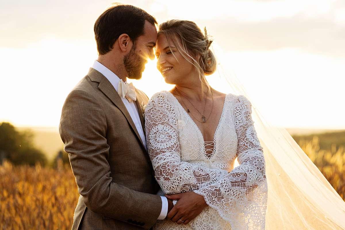 Bohemian bruiloft in de Ardennen - Trouwen op Sechery