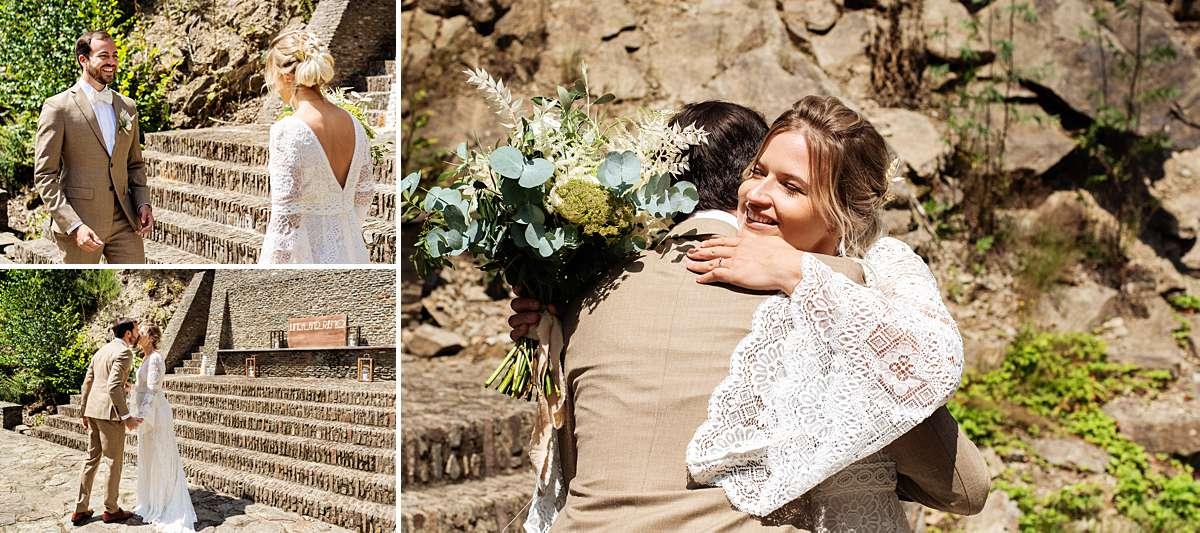 trouwen ardennen, first look bruiloft, trouwen belgie, bruidsfotograaf ardennen, bruidsfotograaf belgie, trouwen sechery, trouwlocatie belgie
