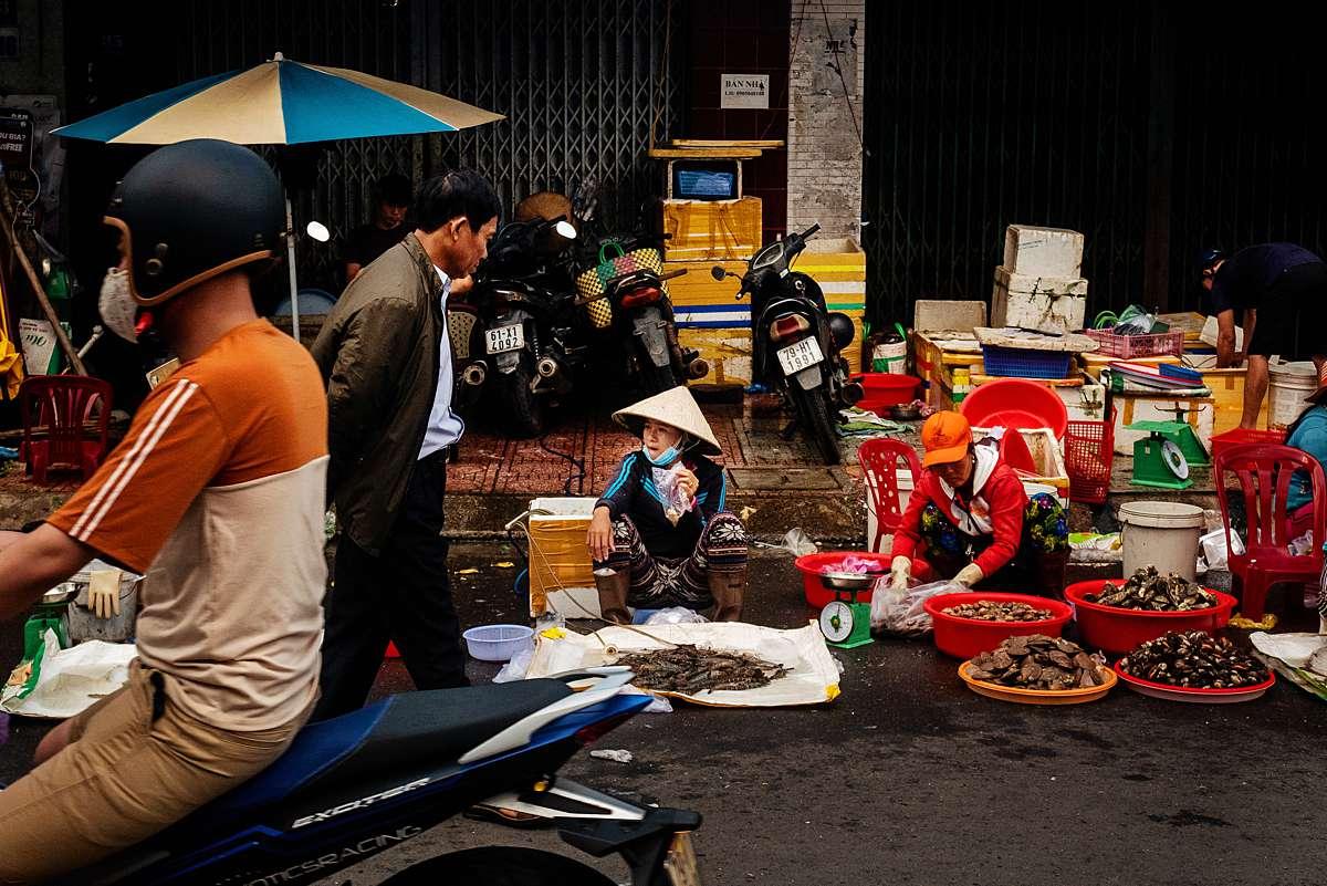 ruudc fotografie, vietnam, da nang street market, da nang markt, street photography, straatfotografie