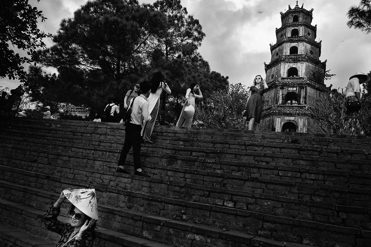 ruudc fotografie, vietnam temple, people, street photography, bai dinh pagoda